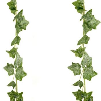Artificial Frosted Ivy Garland