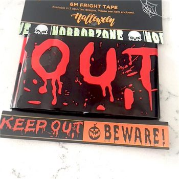 KEEP OUT Fright Tape