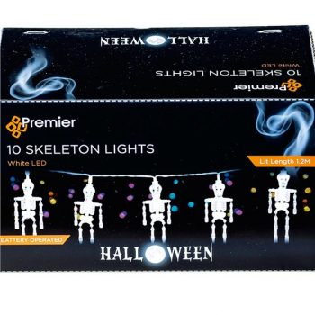 Halloween Skeleton LED Fairy Lights Decoration