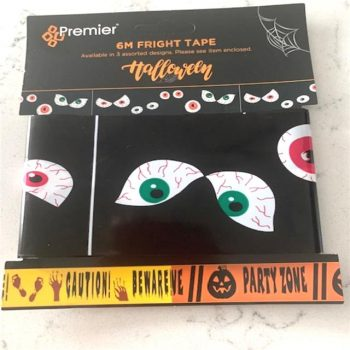 Spooky Eyes Fright Tape