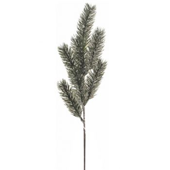 Artificial Frosted Spruce Spray