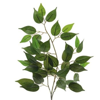 Artificial Green Ficus Branch