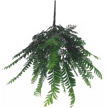 Artificial Green Large Fern Bush