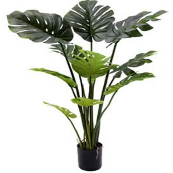 Artificial Monstera Leaf (Swiss Cheese) Plant