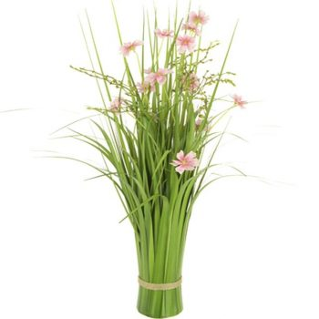 Artificial Summer Meadow Cosmos Pink Flower Sheaf