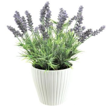 Artificial Potted Meadow Lavender Plant