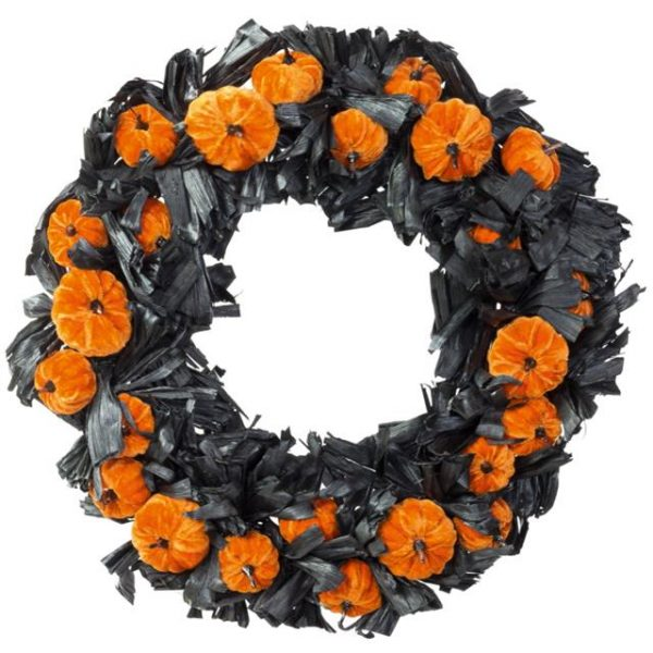Artificial Luxury Pumpkin Wreath