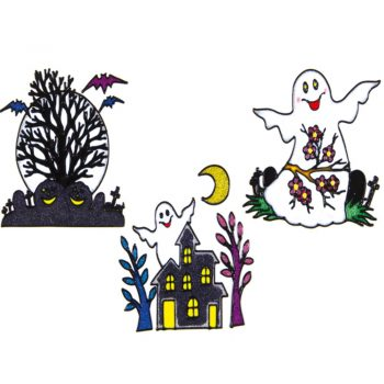 Halloween Party Window Clings
