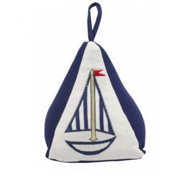 Nautical Yacht Pyramid Doorstop