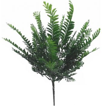 Artificial Green Fern Bush