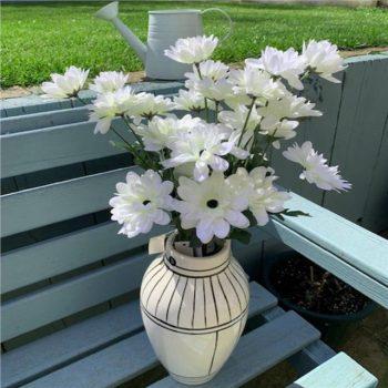 Artificial White Daisy Stems