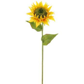 Large Silk Sunflower Long Stem