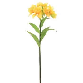 Artificial Yellow Alstroemeria