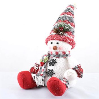 Snowman Sitting Christmas Decoration