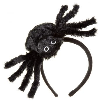 Halloween Black Giant Spider Headband