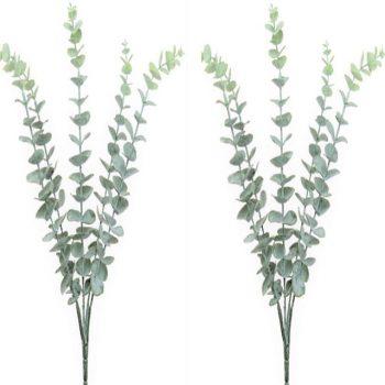 Artificial Eucalyptus Bunches -Set of 2
