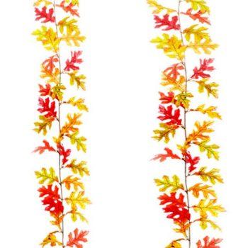 Artificial Oak Leaf Garland
