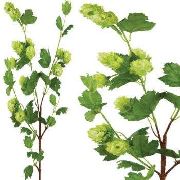 Artificial Large Ripening Hop Flower Spray
