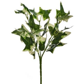 Artificial Variegated Green Ivy Bush